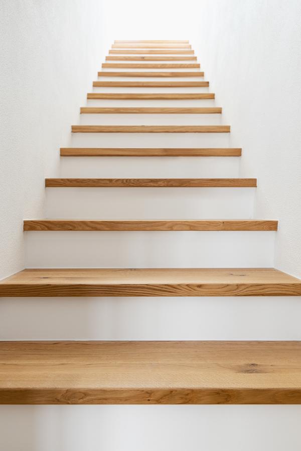Treppe zum OG/DG